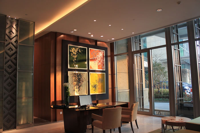 Intercontinental Hotel Suzhou China commission by Cara Enteles