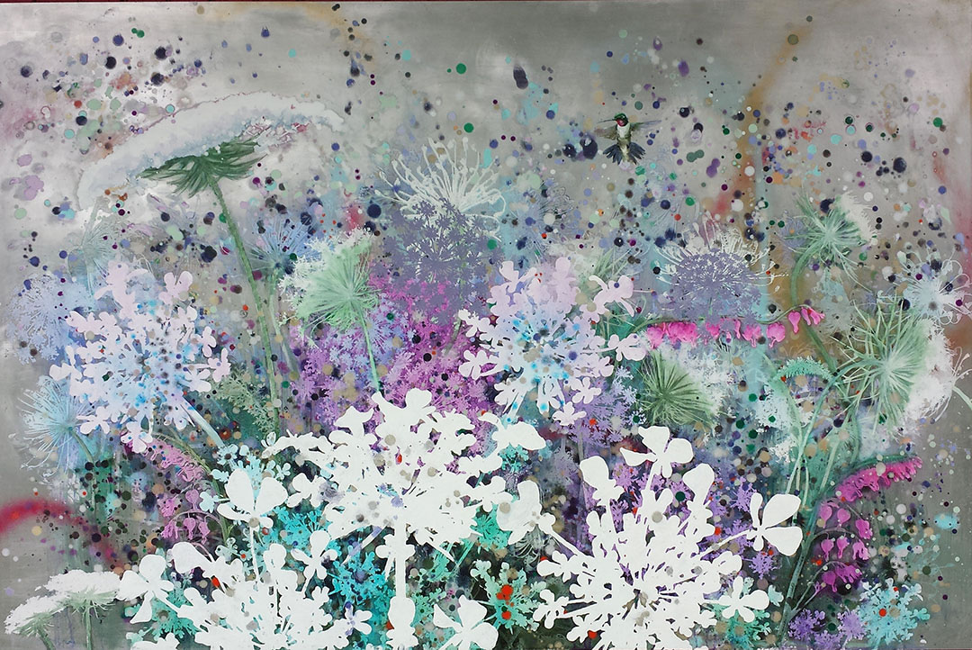 painting, The Wild Field by Cara Enteles